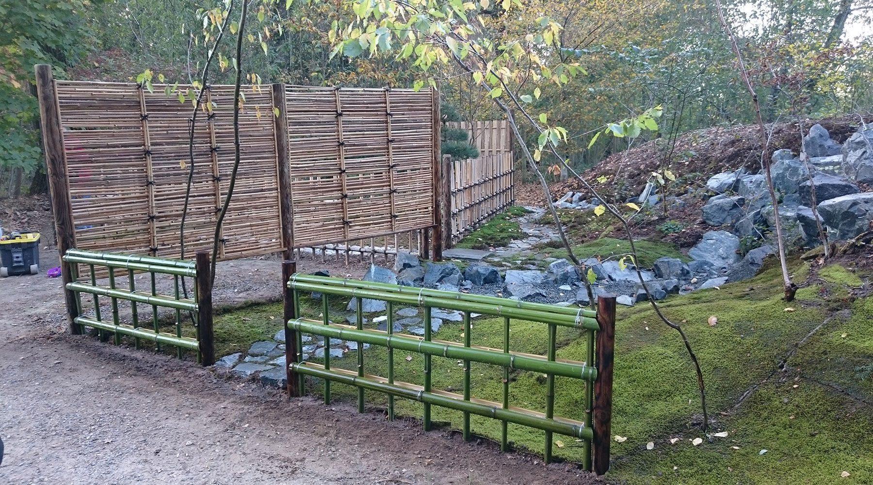 2018年の庭づくりの主用部分。参加者の誰もが懸命に打ち込んだ結果です。