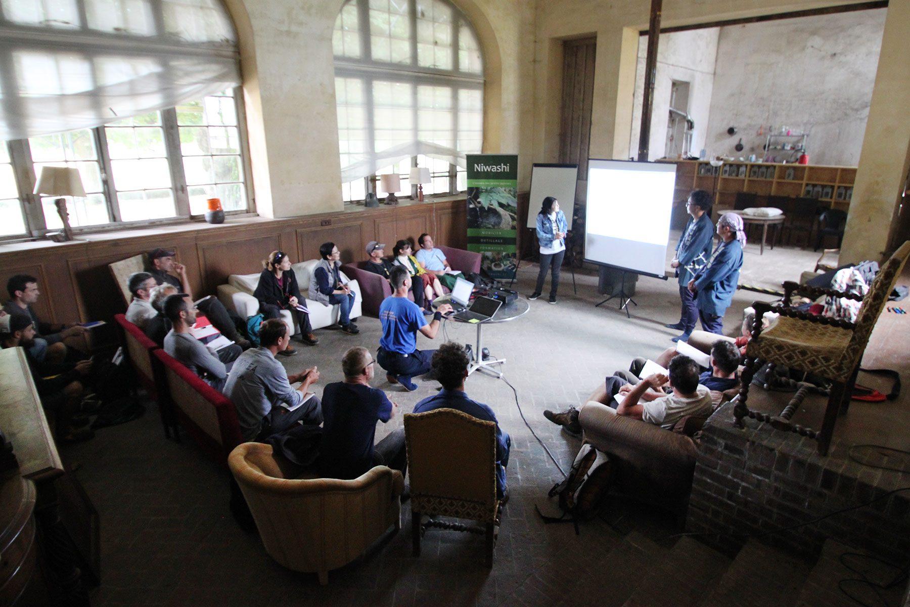 2019年のフランス造園講習会